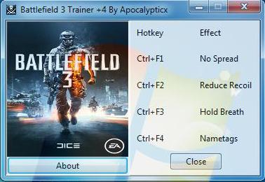 Screens Zimmer 2 angezeig: trainer battlefield 2